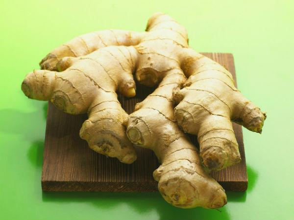 Herbal Ways Use Ginger 2 Times Thicker Hair