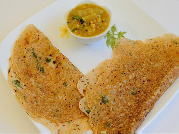 Wheat Flour Dosa Recipe