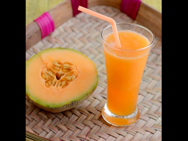 musk melon juice recipe