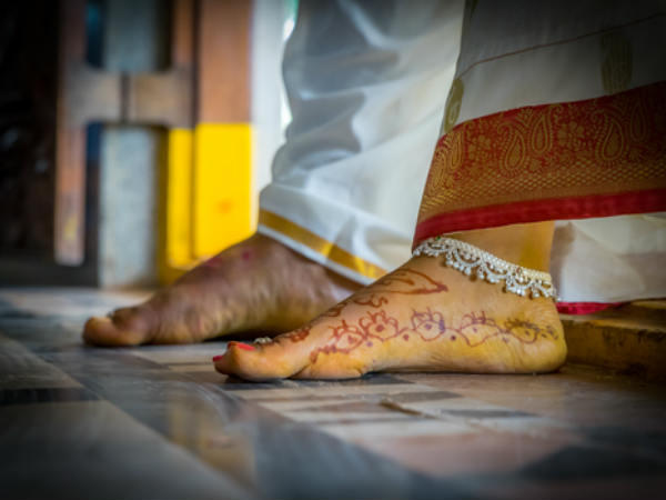 Reason Why Hindu Women Wearing Sliver Anklet
