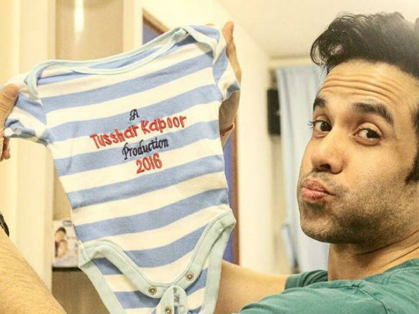 Tusshar Kapoor Becomes Proud Father Leaving Everyone Surprised