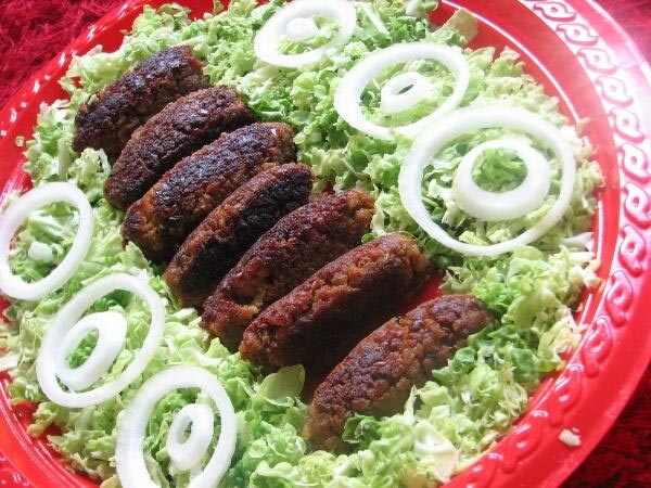 Vegetable Shikampuri Kebab