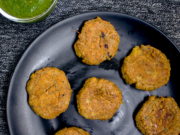 sweet potato tikki recipe