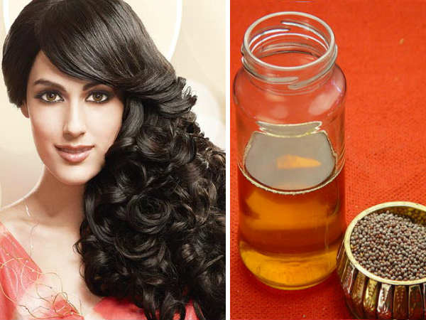 Homemade Mustard Oil Hair pack