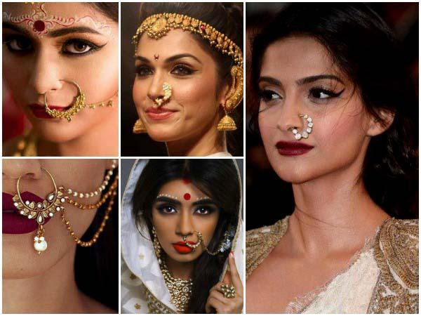 ભારતીય સંસ્કૃતિમાં નોઝ રિંગ્સ પહેરવાના મહત્વ