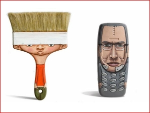 Household Objects Transformed Into Cartoon Characters
