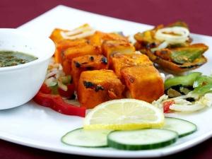 Spicy Paneer Tikka