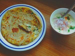 Mixed Vegetable Paratha