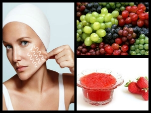 Strawberry Grape Face Pack Sagging Skin