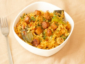 Goli Pulao Recipe