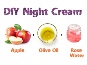 Night Cream Can Now Be Made At Home Using Apples
