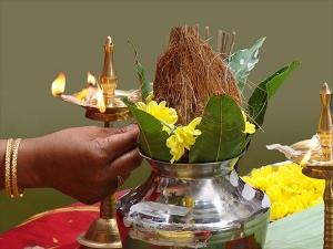 Shardiya Navratri Ghatasthapana
