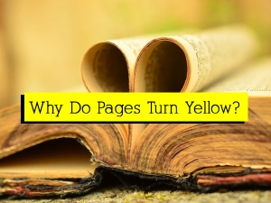 Why Do Papers Turn Yellow Over Time