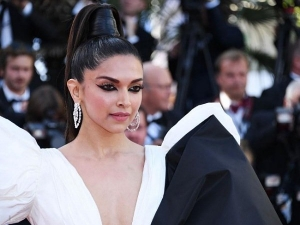 Deepika Stuns In A Bow Gown At Cannes